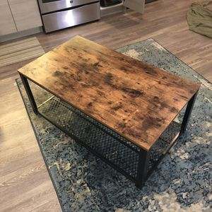 SONGMICS Industrial Coffee Table for Sale in Washington, DC