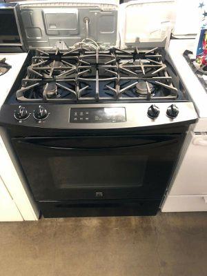 Black Slide in Kenmore 4 burner gas stove for Sale in Corona, CA