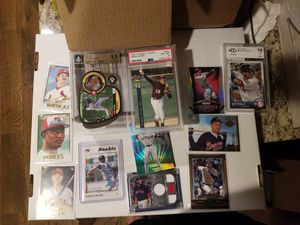 Baseball cards Jeter 9.5, 8 David Price quad relic and more for Sale in Murfreesboro, TN