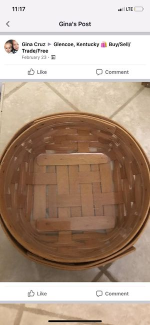 Longaberger basket for Sale in Florence, KY