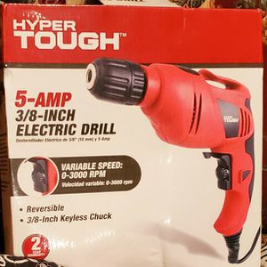 Hyper Tough 5 AMP 3/8 Inch Corded Electric Drill for Sale in Ottawa, KS