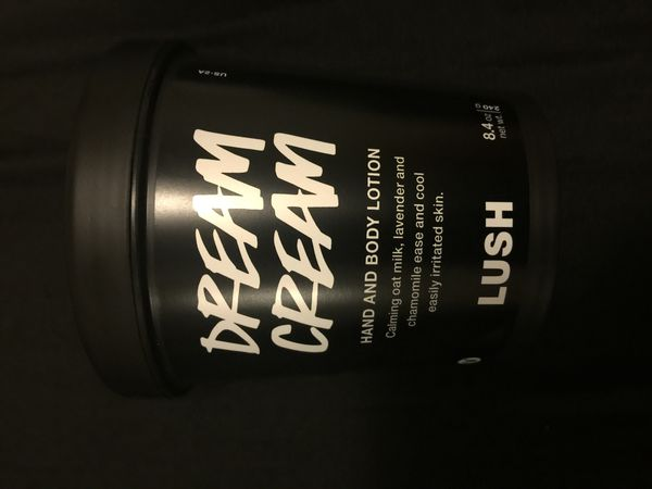 Lush body creams sold individually or together
