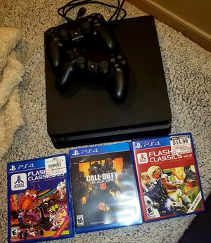 1TB PS4 with 3 games for Sale in Washington, DC