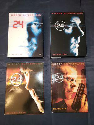 24 Complete Seasons on DVD Season 1 & 2 -4 &5 for Sale in Bayonne, NJ