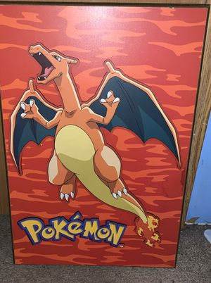 Pokémon 3D Dragon Wooden Art Decor for Sale in Greenwood, DE