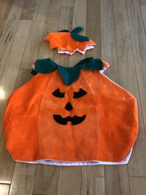 Kids Pumpkin Costume for Sale in Snohomish, WA