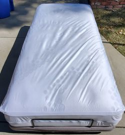 SIT N SLEEP adjustable frame with mattress included. for Sale in Glendora,  CA