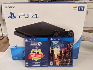 PS4 + 2 Games for Sale in Kirkland, WA