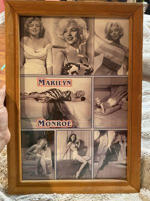 Wall frame/ wall decor/ Marilyn Monroe for Sale in South Gate, CA