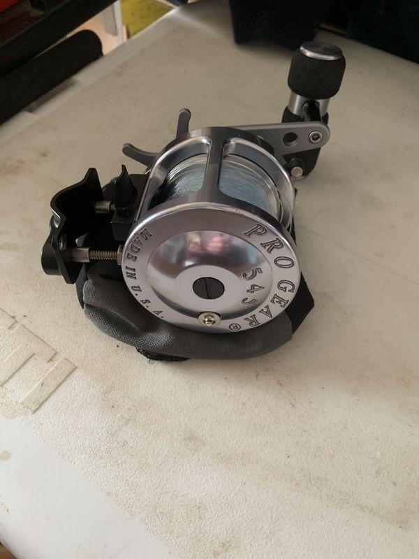 Pro gear fishing reel