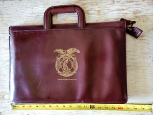 Vintage Military Soft Leather Briefcase for Sale in Albuquerque, NM