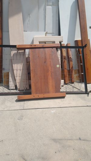 Free bunk bed, dark wood for Sale in Whittier, CA
