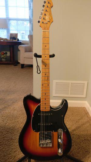 Peavey generation exp sunburst triple single coil telecaster guitar for Sale in Delaware, OH