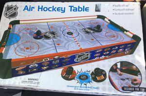 NHL Air hockey table for Sale in Stafford Township, NJ