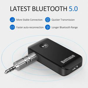 Bluetooth V5.0 aux Adapter, Boltune Audio Receiver Car Kit, for Home Hi-fi System for Sale in Fontana, CA