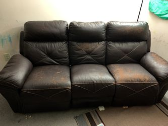 Three Seater Sofa with Manual recliner for Sale in Worthington,  OH