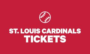 4 cardinal tickets for Sale in Bowling Green, MO