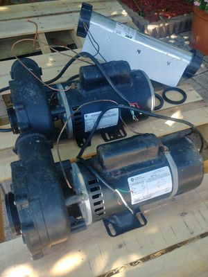 2 GE hot tub pump and motor for Sale in Holiday, FL
