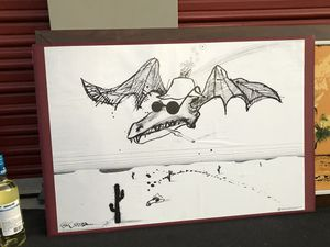 Ralph Steadman poster for Sale in San Luis Obispo, CA