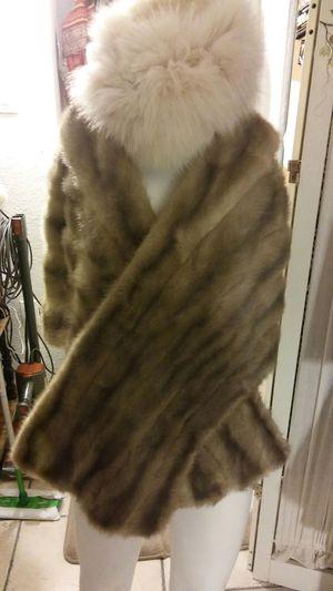 Fur shawl for Sale in North Las Vegas, NV