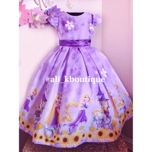 💜💛Princess Rapunzel Dress💛💜 Dize 4T-5T for Sale in Anaheim, CA
