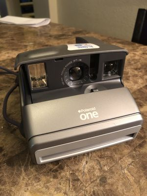 Polaroid One 600 Silver Instant Film Camera Tested and Works for Sale in Gilbert, AZ