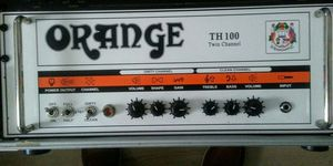 Orange TH100 1000$ as it sits 800$ in original surrounding for Sale in Millville, NJ