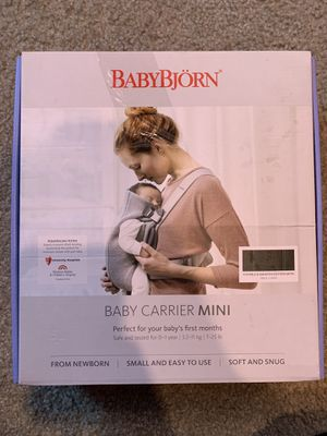 Baby Bjorn Baby Carrier Mini Black for Sale in Chino, CA