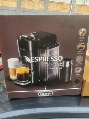 Nespresso vertuo & aeroccino 3 coffee maker for Sale in Philadelphia, PA