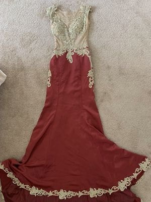 Custom Prom Dress with train for Sale in Daly City, CA