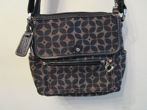 Fossil Marlow Crossbody Black & Tan Messenger Bag for Sale in Wingate, NC