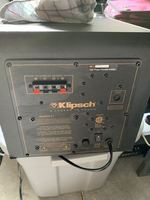 Klipsch active subwoofer for Sale in Naples, FL