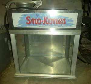 Sno-Kones for Sale in Baltimore, MD