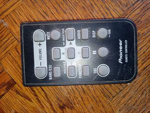 Car Remote control Pioneer stereo for Sale in Clovis, CA