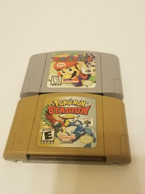 Nintendo 64 games $60 for both FIRM!!! for Sale in Cypress, TX