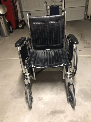 Wheelchair not the best one out there but it gets the job done. Only $25 for Sale in Peoria, AZ