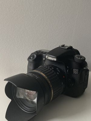 Canon 70D with lenses for Sale in Brooklyn, NY