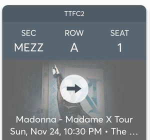 Madonna concert tickets @Wiltern Sunday Nov 24 for Sale in Los Angeles, CA