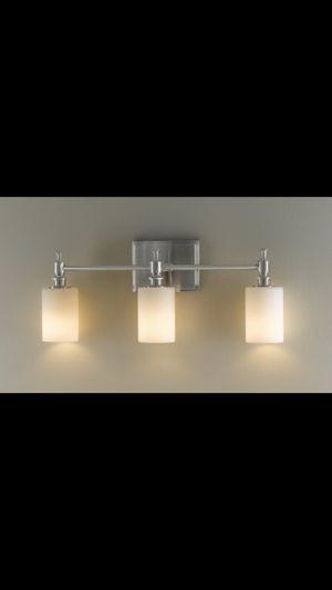 Feiss Sullivan 3-Light Vanity Fixture in Brushed Steel - VS16103-BS for Sale in Philadelphia, PA
