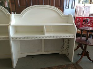 Single bed headboard w/matching desk/bookshelf for Sale in VERNON ROCKVL, CT