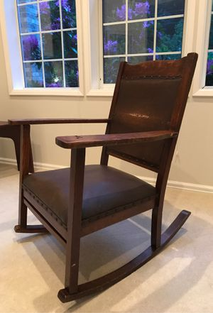 Antique Mission Style Rocking Chair for Sale in Auburn, WA