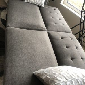 "Grey Convertible Futon, 77"" for Sale in Seattle, WA"
