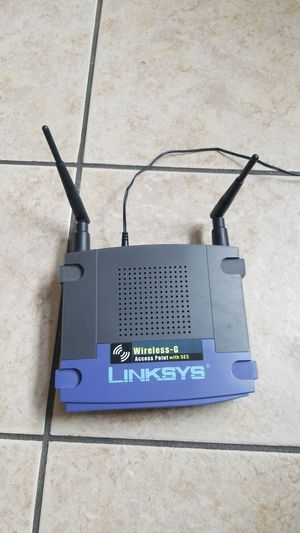 LINKSYS WAP54G 802.11b/g Wireless-G Access Point up to 54Mbps/ DD-WRT Open Source Support for Sale in Hanover, MD