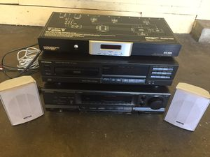 Technics Cd audio receiver player stereo equipment pioneer speakers for Sale in Los Angeles, CA