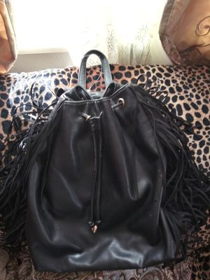 De Lux Fringe leather backpack for Sale in Eugene, OR