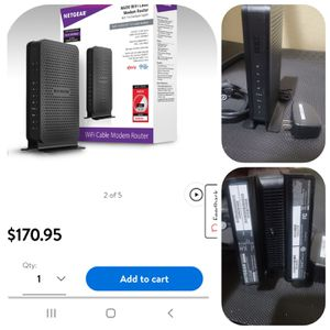Modem and Router for Sale in Las Vegas, NV
