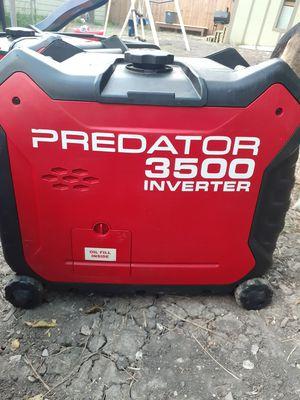 PREDATOR GENERATOR 3500 SILENT for Sale in San Antonio, TX