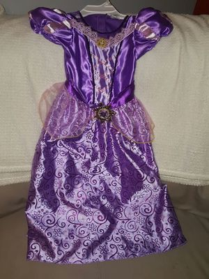 Disney princess rapunzel girls costume for Sale in Brooklyn, NY