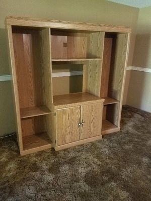 $275.00..ANTIQUE/VINTAGE WOODEN ENTERTAINMENT CENTER. for Sale in New Waverly, TX
