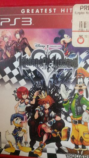 Kingdom hearts for ps3 for Sale in Fresno, CA